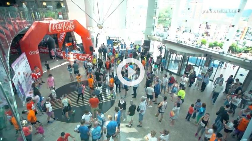 video de la subida en el 2016 al hotel bali
